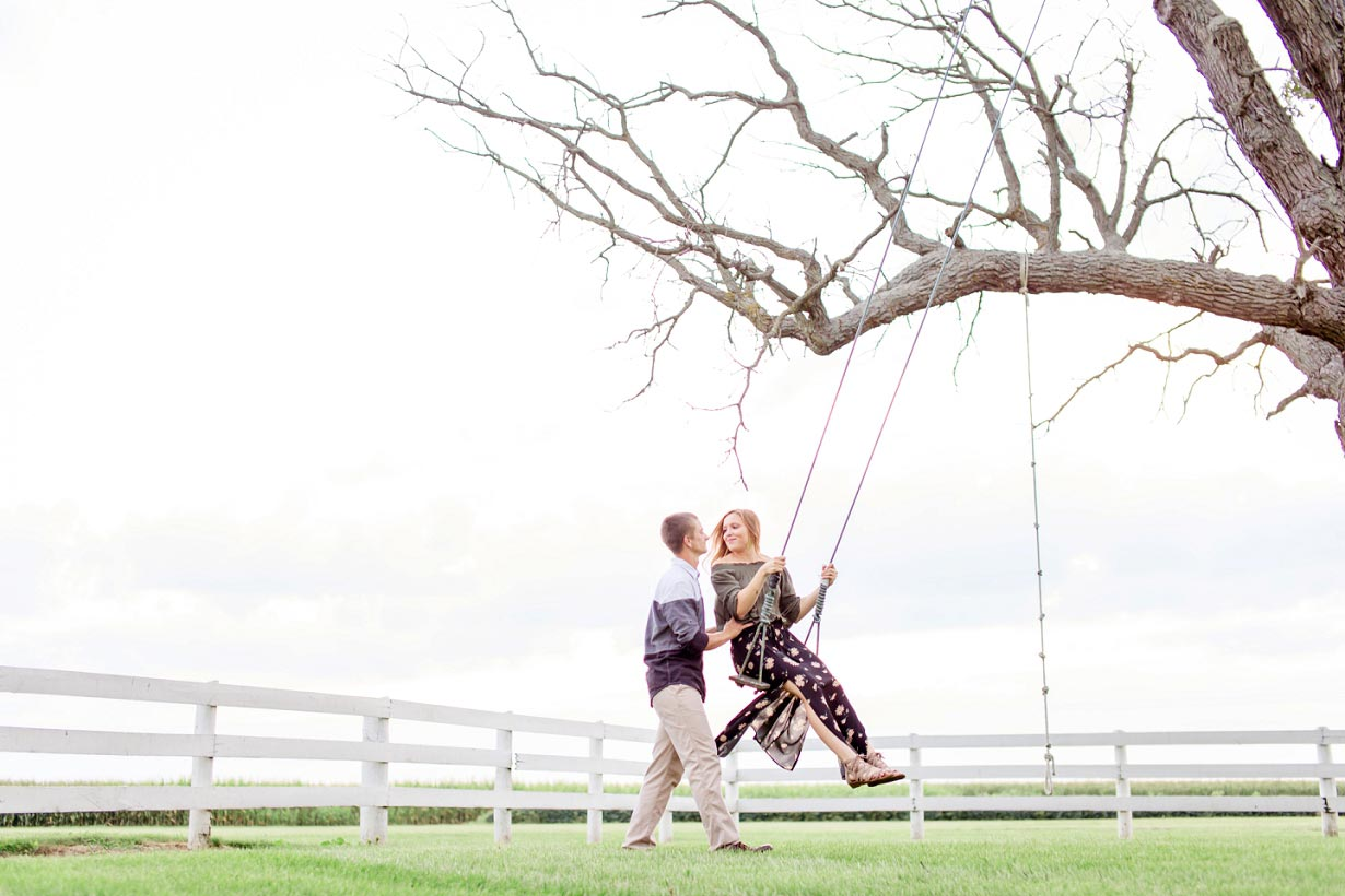 Tree Swing Engagement