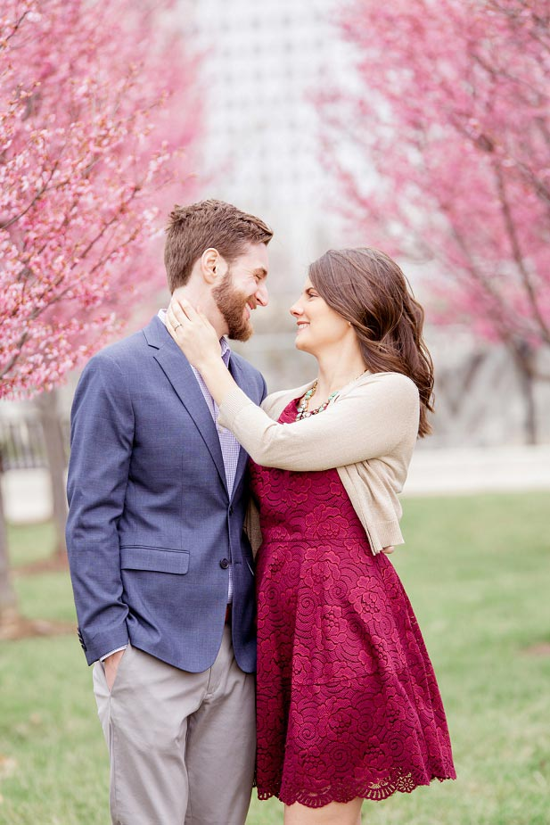 Engagement in Columbus Ohio Spring