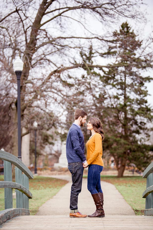 Engagement at Schiller Park