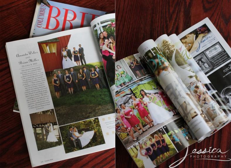 Columbus Bride Magazine Fall/Winter, 2012