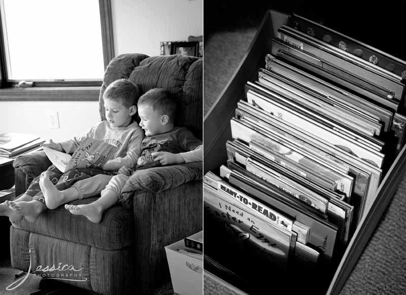 Pic of Children Reading Books