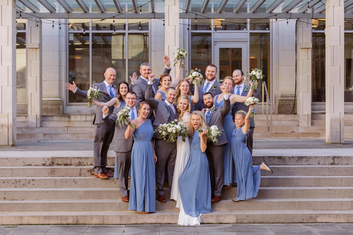 Bridal Part at the Cincinnati Art Museum