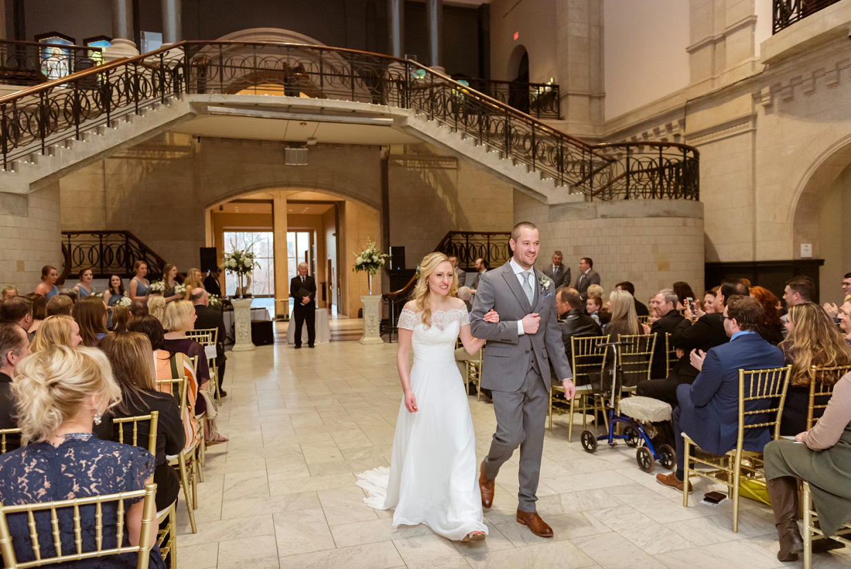 Cincinnati Art Museum Wedding Ceremony