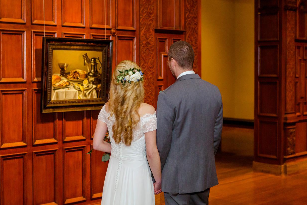 Cincinnati Art Museum Wedding Portraits