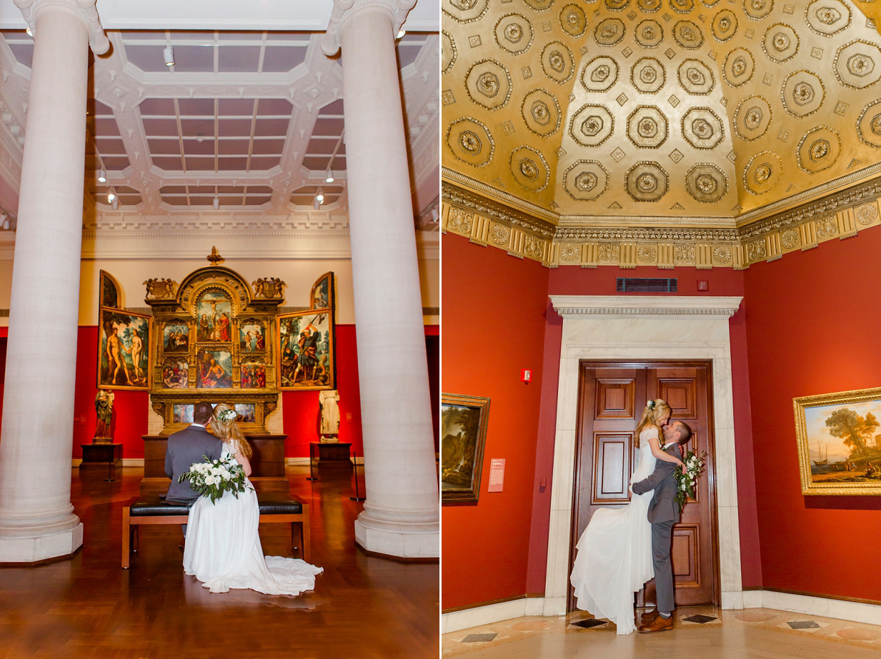 Cincinnati Art Museum Wedding